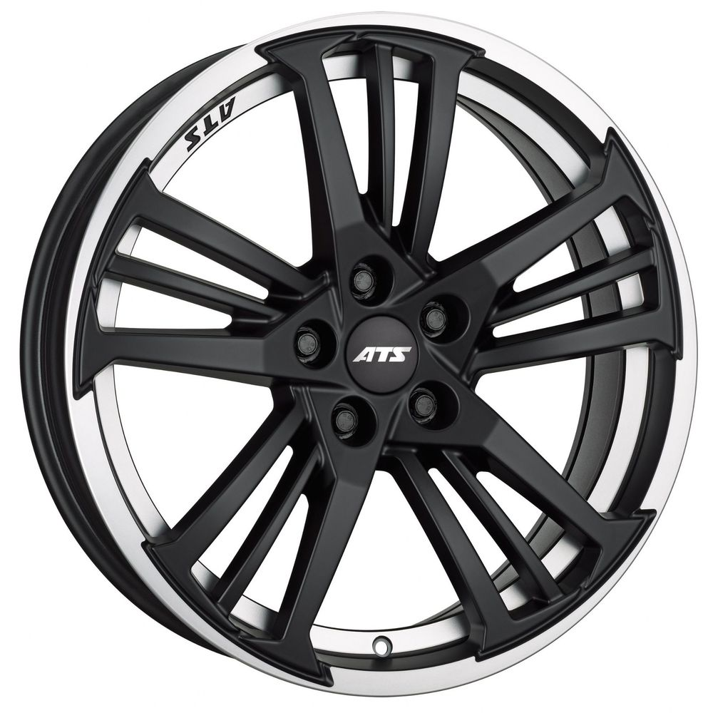 Large 10x19 ATS Präzision Racing Black Polished