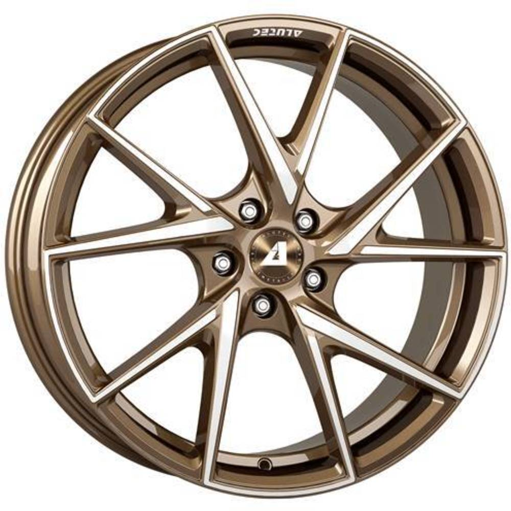 Large 8.5x18 Alutec ADX.01 Metallic Bronze Polished