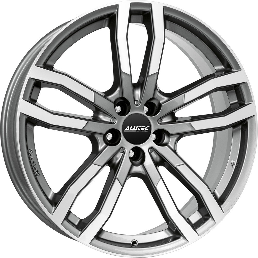 Large 9x20 Alutec DriveX Gunmetal Polished