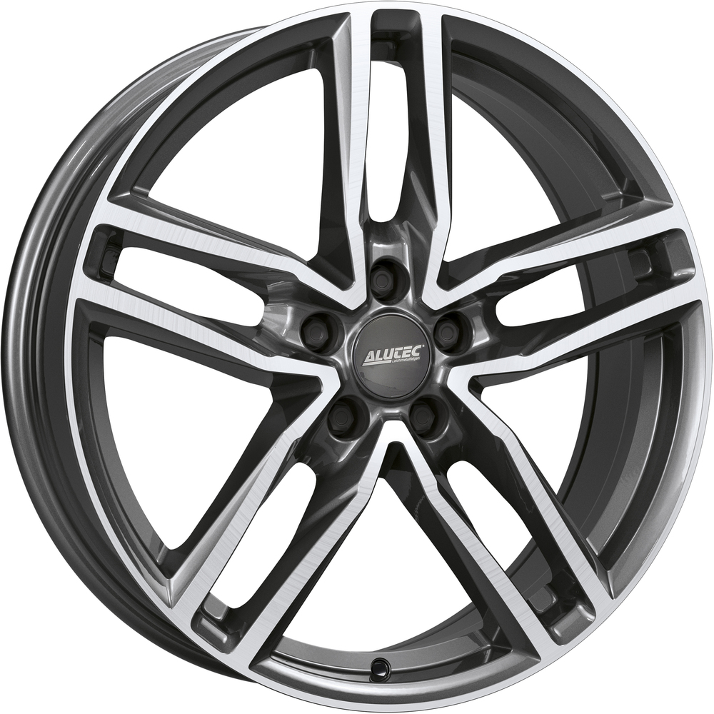 Large 6.5x16 Alutec Ikenu Gunmetal Polished
