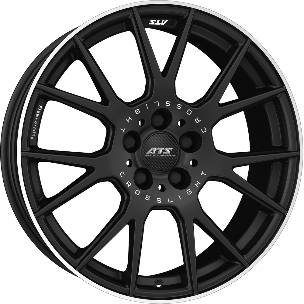https://www.wolfrace.com/wp-content/uploads/2018/03/ats_crosslight_racing_black_polished.jpg Alloy Wheels Image.