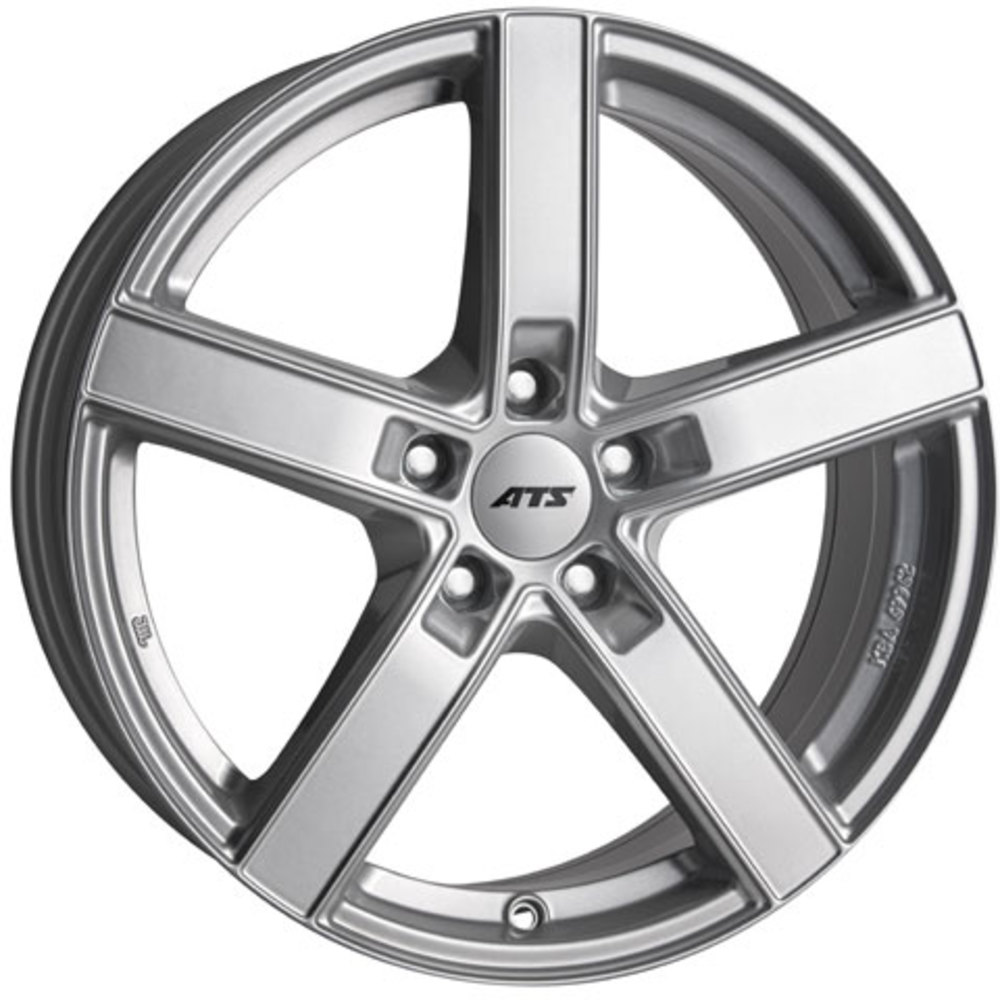 Large 7.5x17 ATS Emotion Polar Silver