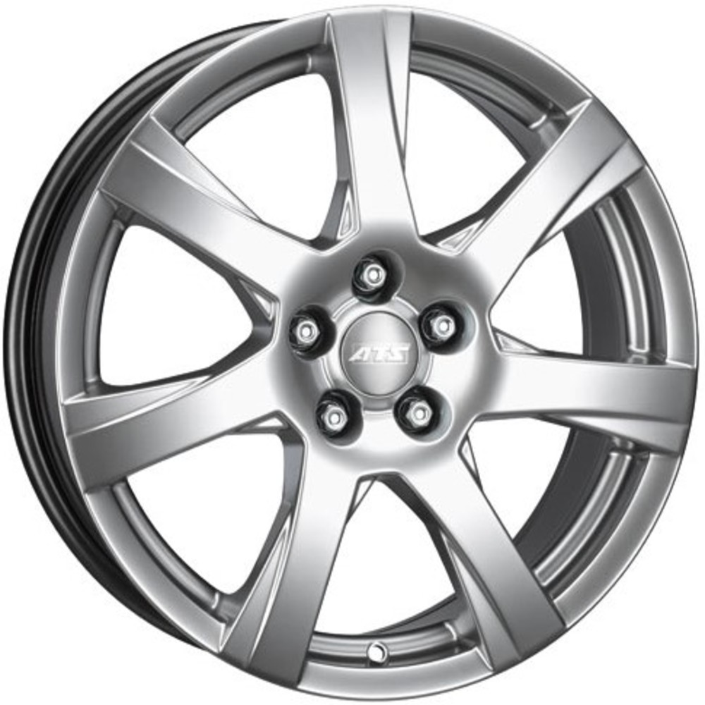 Large 6.5x16 ATS Twister Polar Silver