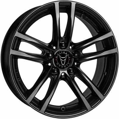 Wolfrace Eurosport X10X Racing Black Alloy Wheels Image