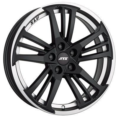 10x19 ATS Präzision Racing Black Polished