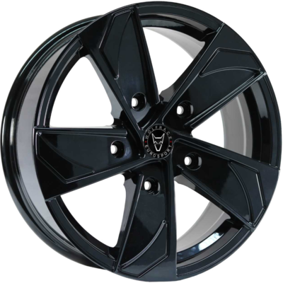 Wolfrace Eurosport AD5T Gloss Black Alloy Wheels Image