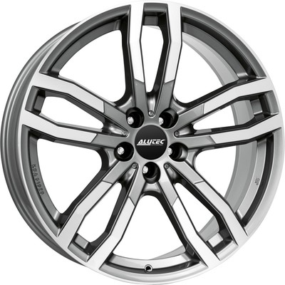9x20 Alutec DriveX Gunmetal Polished