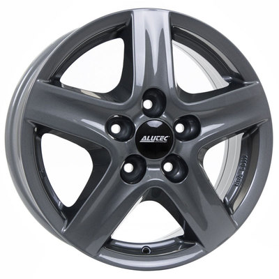 Alutec Grip Transporter Graphite Alloy Wheels Image