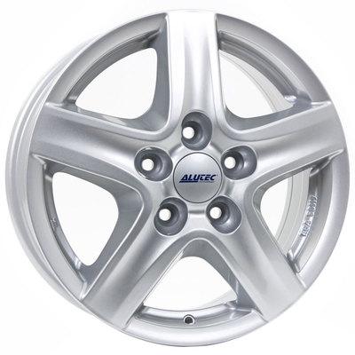 Alutec Grip Transporter Polar Silver Alloy Wheels Image