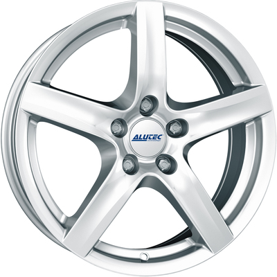 Alutec Grip Polar Silver Alloy Wheels Image