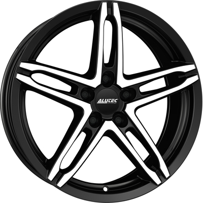 6x16 Alutec Poison Racing Black Polished