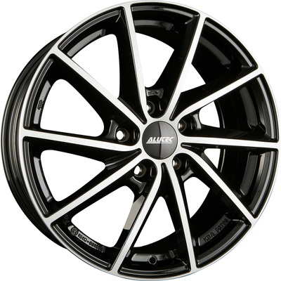 7x17 Alutec Singa Diamond Black Polished