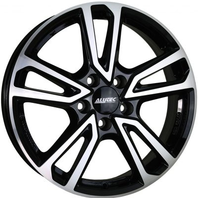 Alutec Tormenta Diamond Black Polished Alloy Wheels Image