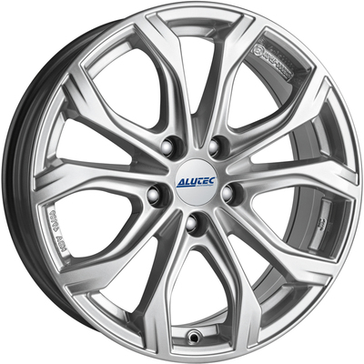 Alutec W10 Polar Silver Alloy Wheels Image