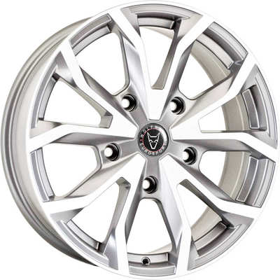 Wolfrace Eurosport Assassin TRS Urban Chrome Alloy Wheels Image