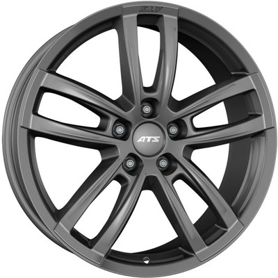 8x18 ATS Radial Racing Grey Alloy Wheels Image