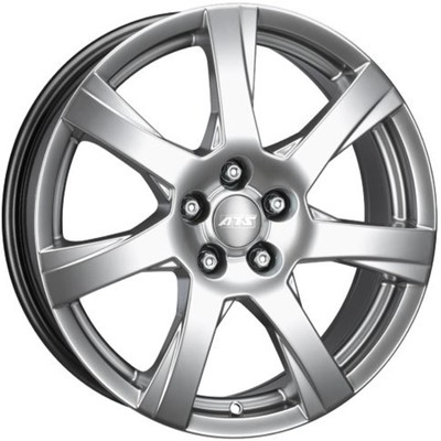 6x15 ATS Twister Polar Silver Alloy Wheels Image