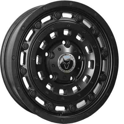 Wolfrace Explorer Overland Matt Black Alloy Wheels Image