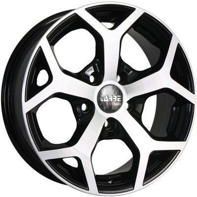 Carre Mustang Gloss Black Polished Alloy Wheels Image