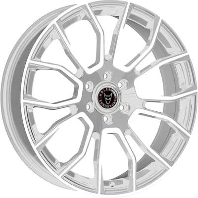 Wolfrace Eurosport Evoke X Urban Chrome Polished Face Alloy Wheels Image