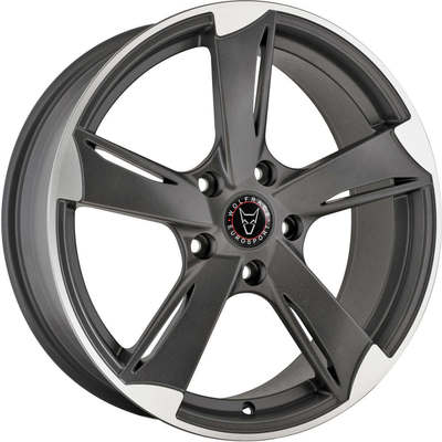 Wolfrace Eurosport Genesis Satin Gunmetal Polished Alloy Wheels Image