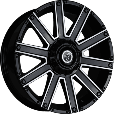 Wolfrace Explorer Kalahari Gloss Black Polished Alloy Wheels Image