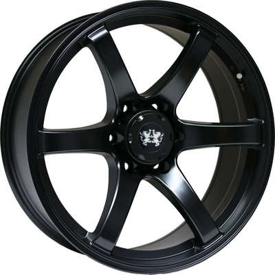 9x20 Clearance LH1 Satin Black Alloy Wheels Image