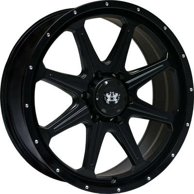 9x20 Clearance LH2 Satin Black Alloy Wheels Image