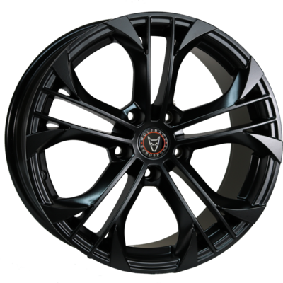 8.5x18 Wolfrace Eurosport Assassin GT Matt black