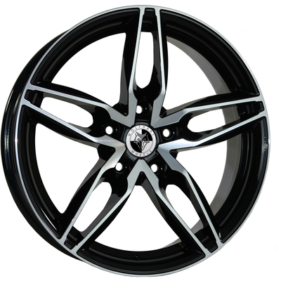 8x18 Wolfhart Origin Gloss Black Polished