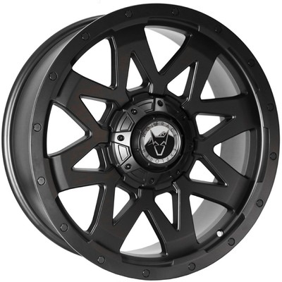 Wolfrace Explorer Ranger Matt Black Alloy Wheels Image