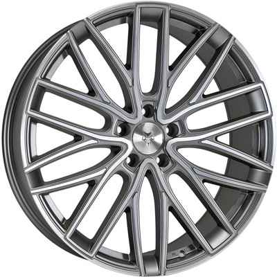 Wolfrace Eurosport GTR Gunmetal Polished Alloy Wheels Image