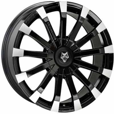 Wolfrace Eurosport Renaissance Gloss Black Polished Alloy Wheels Image