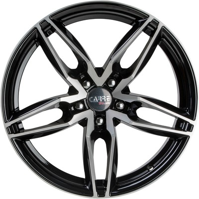 Large 8.5x18 Wolfhart Primus Gloss Black Polished