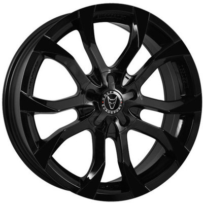 8x18 Wolfrace Eurosport Assassin Gloss Black