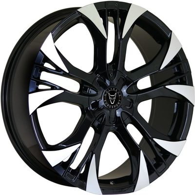 Wolfrace Eurosport Assassin GT2 Gloss Black Polished Alloy Wheels Image