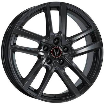 7.5x17 Wolfrace Eurosport Astorga Diamond Black
