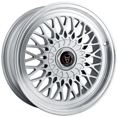 8.5x18 Clearance Classic Hyper Silver Polished Lip Alloy Wheels Image