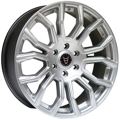 Wolfrace Eurosport Evoke X Silver Polished Face Alloy Wheels Image