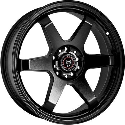 Wolfrace Eurosport JDM Satin Black Alloy Wheels Image