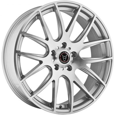 Wolfrace Eurosport Munich 2 Silver Polished Alloy Wheels Image