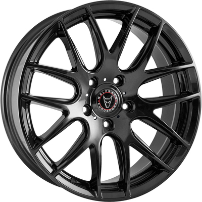 8.5x20 Wolfrace Eurosport Munich 2 Gloss Black Alloy Wheels Image