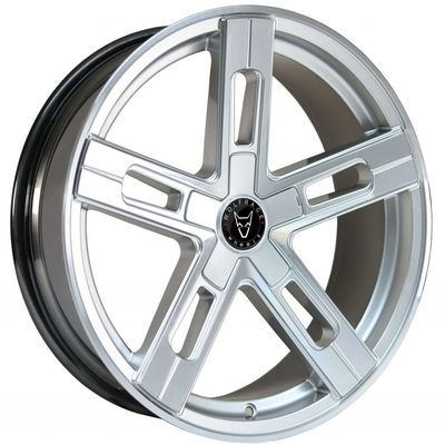 Wolfrace Eurosport Stuttgart Ultra Concave Hyper Silver Polished Face Alloy Wheels Image