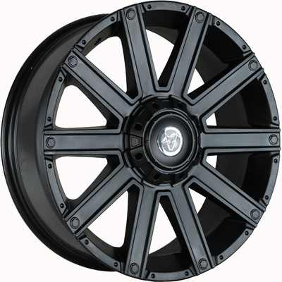 Wolfrace Explorer Kalahari Matt Black Alloy Wheels Image