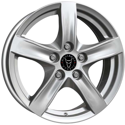 Wolfrace GB Arktis Polar Silver Alloy Wheels Image