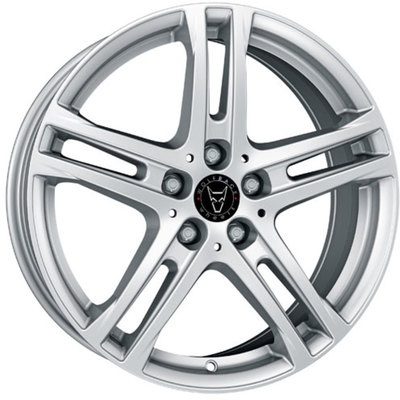 Wolfrace GB Bavaro Polar Silver Alloy Wheels Image