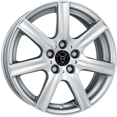 Wolfrace GB Davos Polar Silver Alloy Wheels Image