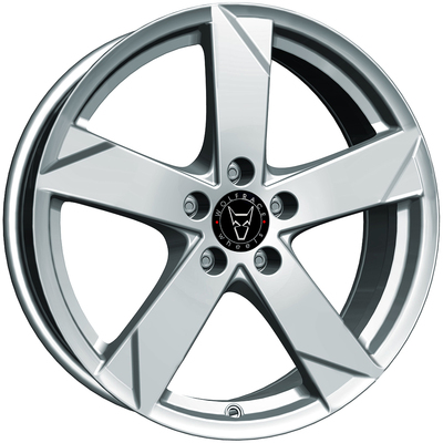Wolfrace GB Kodiak Polar Silver Alloy Wheels Image