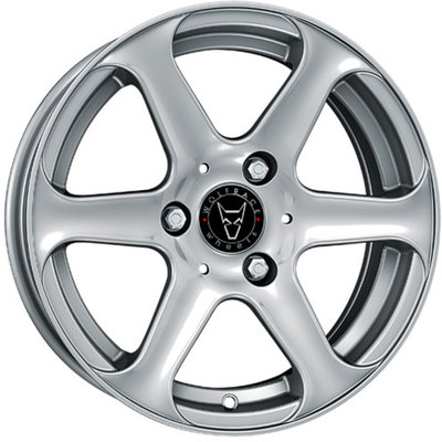 Wolfrace Eurosport Lemans Sterling Silver Alloy Wheels Image
