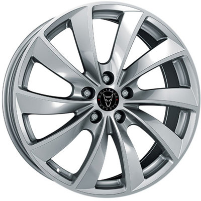 Wolfrace Eurosport Lugano Sterling Silver Alloy Wheels Image